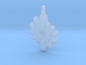 Spiral Flower 1 in Smooth Fine Detail Plastic