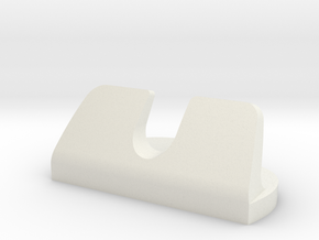 RAZOR HOLDER in White Natural Versatile Plastic