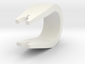 Trig Clip in White Strong & Flexible