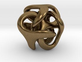 TRilio Dadi - 50mm in Natural Bronze