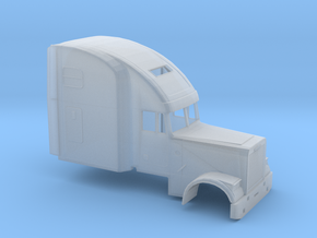 1/160 Freightliner-Classic XL High Sleeper in Frosted Ultra Detail