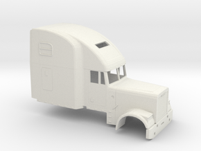 1/87 Freightliner Classic XL High Sleeper in White Natural Versatile Plastic
