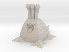 Polygonal Alien (Plain) in Natural Sandstone