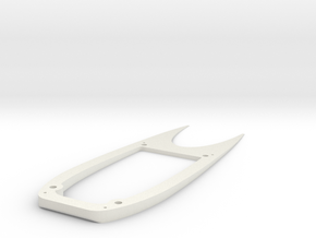 Ranger EX Wing Angle Spacer Top Plate in White Strong & Flexible