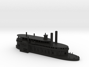 1/600 USS Red Rover in Black Natural Versatile Plastic