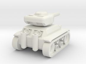 Panzer '74 Mini in White Strong & Flexible