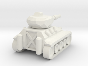 Schützenpanzer Mini in White Natural Versatile Plastic