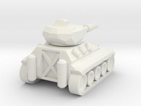 Schützenpanzer Mini in White Natural Versatile Plastic