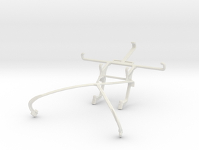 Controller mount for Shield 2015 & Motorola DROID  in White Natural Versatile Plastic