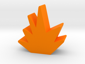 Blast Token in Orange Strong & Flexible Polished