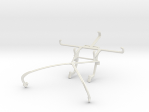 Controller mount for Shield 2015 & Samsung Galaxy  in White Natural Versatile Plastic