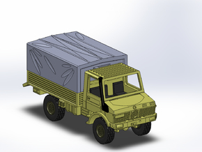 MB Unimog U1300 1:144 in Frosted Ultra Detail