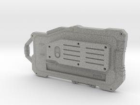 Communications Tac-Pad in Metallic Plastic