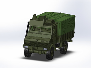 MB Unimog U1300 gepanzert/armored 1:144 in Smooth Fine Detail Plastic