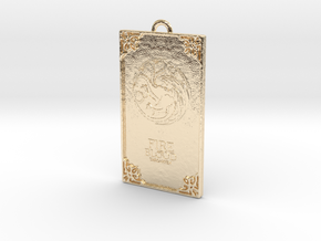 Game of Thrones - Targaryen Pendant in 14K Yellow Gold
