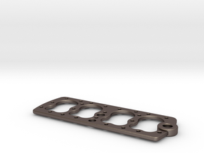 V8 FLATHEAD ENGINE Head Gasket KEY CHAIN 221/239/1 in Polished Bronzed Silver Steel