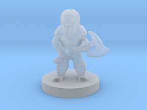 Panhorn the Mighty in Smoothest Fine Detail Plastic