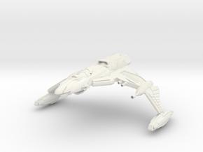 Ku'Doch Class B BattleCruiser in White Strong & Flexible