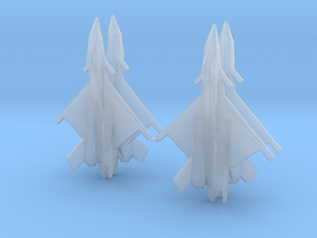 1/700 CFA-44 (x4) in Smooth Fine Detail Plastic