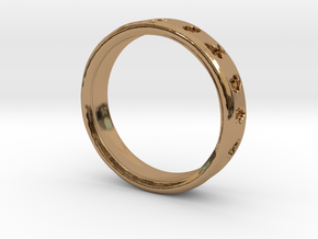 PokemonRing - Size 9 Test in Polished Brass
