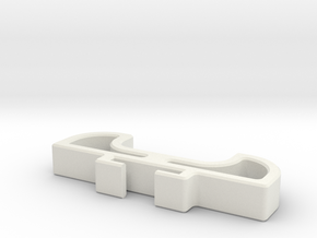 Insert for the Motrr Galileo Bluetooth in White Natural Versatile Plastic