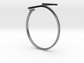 a r c h i t e c t s series - Bracelet T-Square in Fine Detail Polished Silver