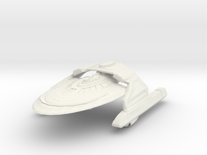 SanMateo Class HvyCruiser in White Strong & Flexible