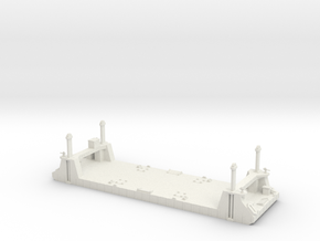 1/600 1 Off Mulberry Spud Pontoon in White Strong & Flexible