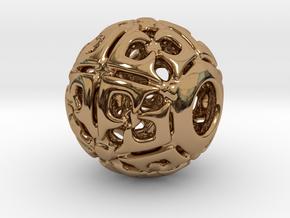 PA CharmV1D14SE721 in Polished Brass