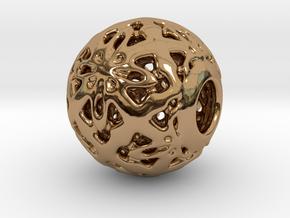 PA CharmV1D14SE566 in Polished Brass