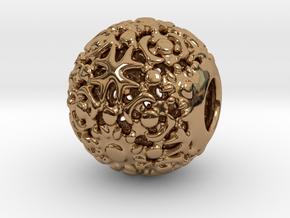 PA CharmV1D14SE558 in Polished Brass