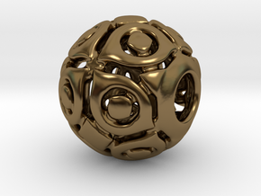 PA CharmV1D14SE86 in Polished Bronze
