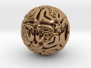 PA CharmV1D14SE84b in Polished Brass