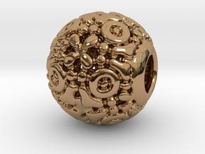 PA CharmV1D14SE77 in Polished Brass