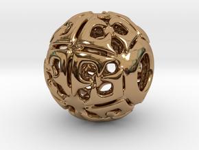 PA CharmV1D14SE72 in Polished Brass