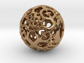 PA CharmV1D14SE64 in Polished Brass