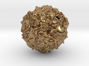 Earth 2500 AD in Natural Brass