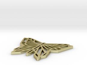 Butterfly Pendant in 18k Gold