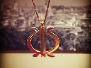 Wawa aba - African strength symbol in 18k Gold Plated Brass