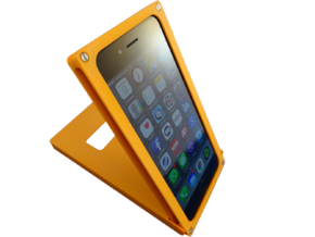 iPhone 6 Flick Cover in Orange Strong & Flexible Polished