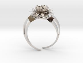 Aster Ring Stl in Platinum