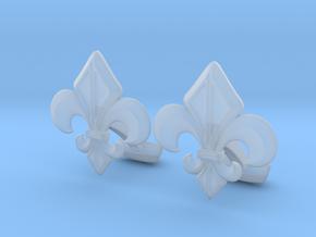 Gothic Cufflinks in Smooth Fine Detail Plastic