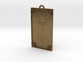 Game of Thrones - Greyjoy Pendant in Polished Bronze