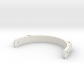 PUPPETEYELID3 Holder in White Natural Versatile Plastic