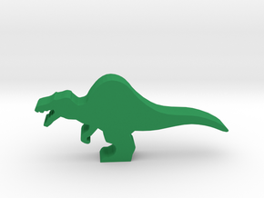 Dino Meeple, Spinosaurus in Green Strong & Flexible Polished