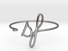 SF Wire Bracelet (San Francisco) in Polished Silver