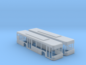 MAN A21 Lion's City Bus (N - 1:160) 2X in Frosted Extreme Detail