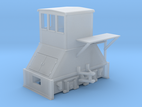 N-scale Coker (RIGHT-hand version) in Smooth Fine Detail Plastic