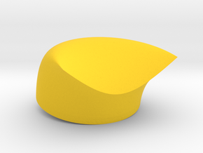 Non-Existent Noodle in Yellow Processed Versatile Plastic