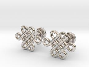 Celtic Cufflinks in Platinum